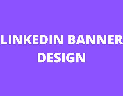 Linkedin Banner Dessign