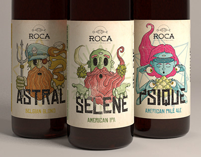 Roca - Craft Brewery - Brand Identity