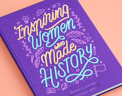 Women History Inspired - Book Covers