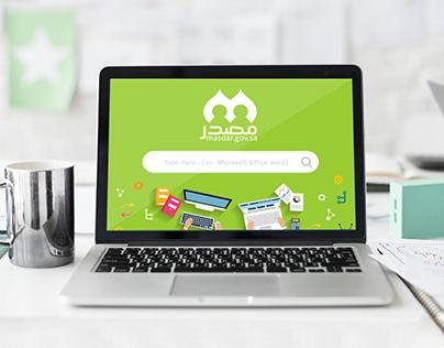 Masdar UI\UX web design