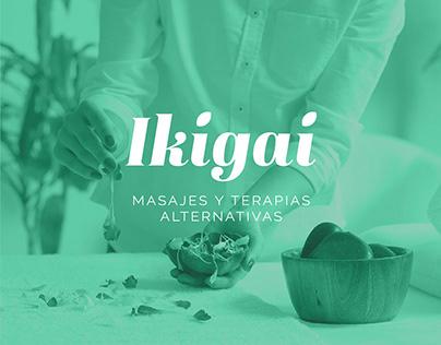 Branding - Ikigai Masajes y terapias alternativas