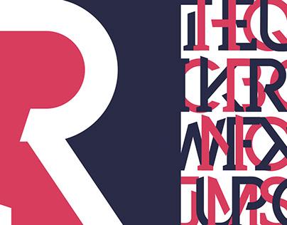Rebar Typeface