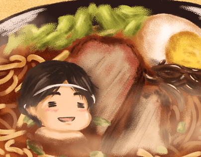 Character + Food series