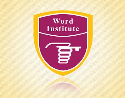 Word Institute Logo Design