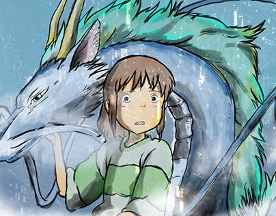 Fan Art : Le voyage de Chihiro