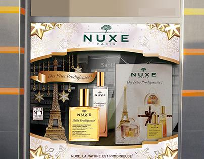 NUXE Showcase Design