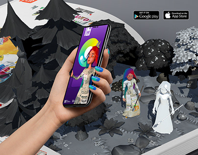 AR books - Typography Fairy - augmented reality apps