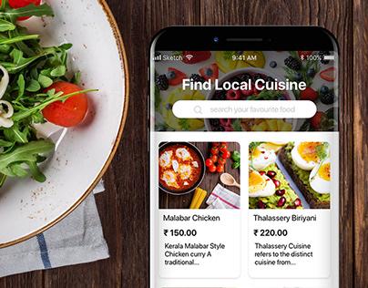 Find local cuisine.