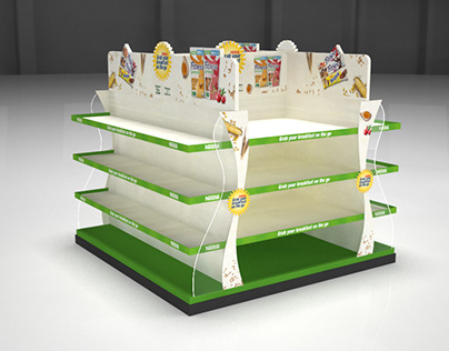 Nestle Display Stand
