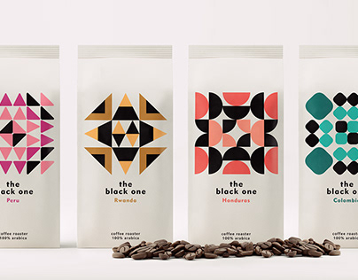 The black one // coffee packaging