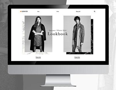 Zalando A/W Digital Lookbook
