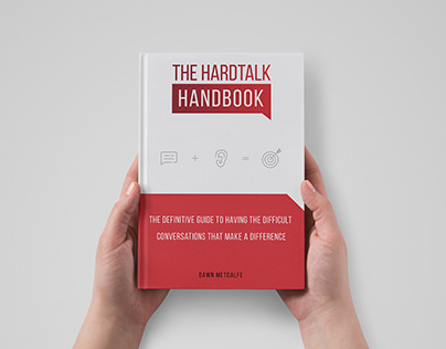 """Layout book design for the """"HardTalk"""""""