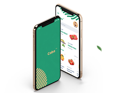 Caba - Grocery Mobile App UI Kit