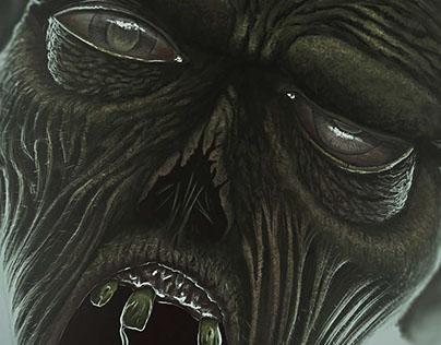Zombie ilustración
