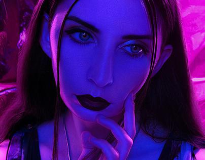 Deep neon IMIRAGEmagazine