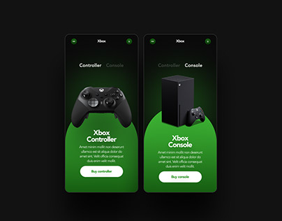 Xbox controller phone version