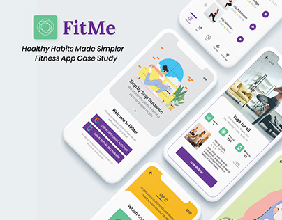 Healthy Habits Made Simpler - Fitness App Case Study