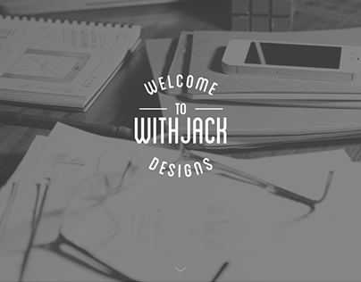 Withjack Designs - 2015 Website