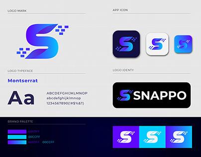 S Letter Mark Design   Snappo Logo Design 2020