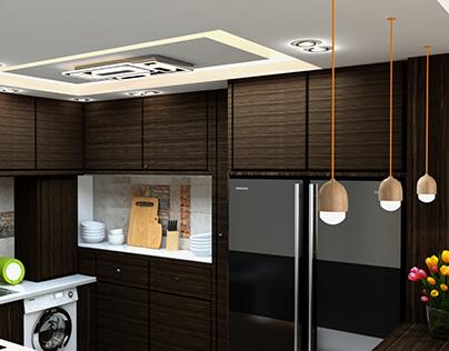 Kitchen Apartment Tagamoa