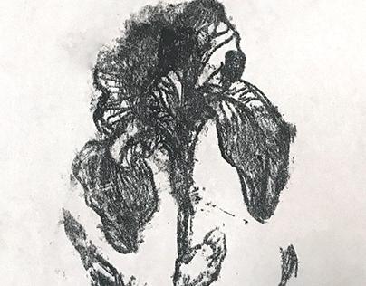lemon lithograph - home made prints