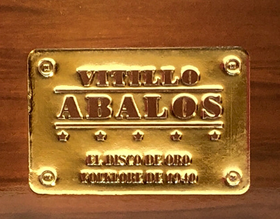 Vitillo Abalos, el disco de oro, folklore de 1940. CD