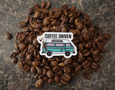 Coffee Driven Illustration