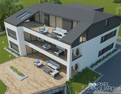 Vila Project in Germany I 3D visualization