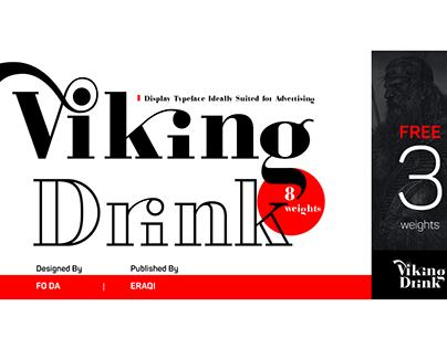 Viking Drink Typeface