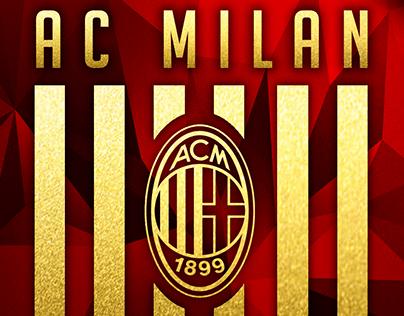 AC Milan (MCM) - Matchday Posters