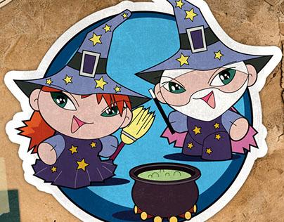 Illustrazioni per stickers