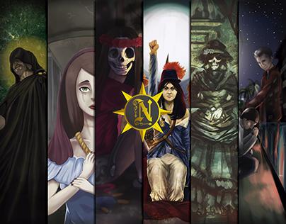 Necronicas,historias mitos y leyendas del cementerio G.