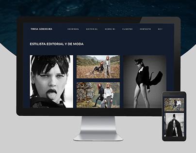 WordPress Portfolio Development - Teresa Goiko