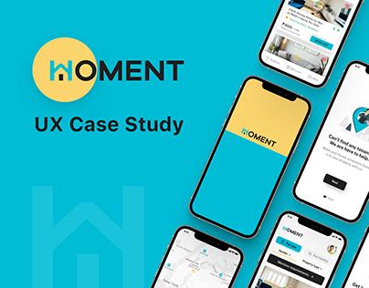 HOMENT UX Case Study