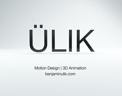 Motion Graphics/Animation Reel