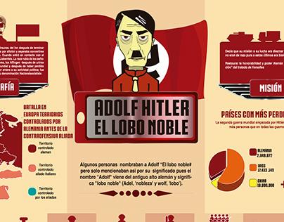 Adolf HITLER EL LOBO NOBLE