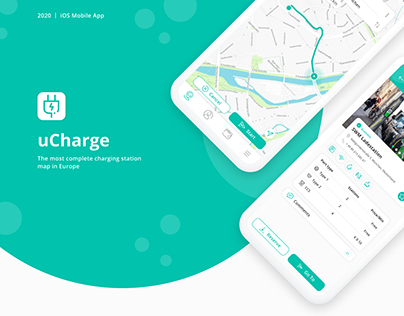 uCharge - mobile App for Electric car charging