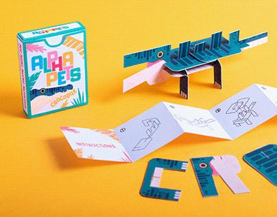Alphapets toy design