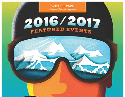 Winterpark Colorado - Event Poster