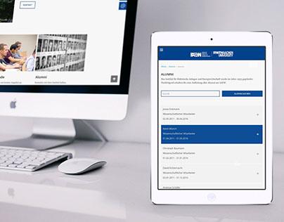 Webauftritt für Aachener Energie Institut