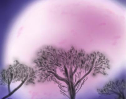 Pink Loona _ digital sketching