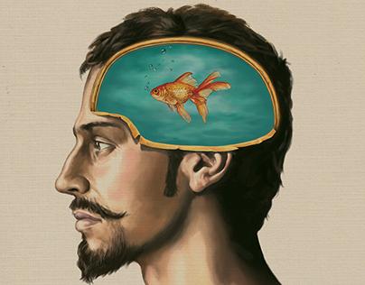 Ilustração de Capa da Revista Superinteressante
