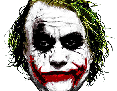 Heath Ledger Joker Projects Photos Videos Logos Illustrations And Branding On Behance