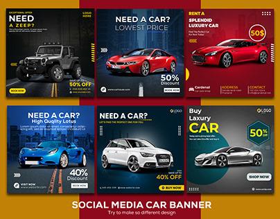 Need A Car Social Media Banner