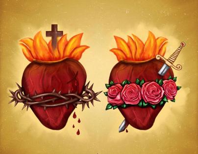 Corações Sagrados / Sacred Hearts