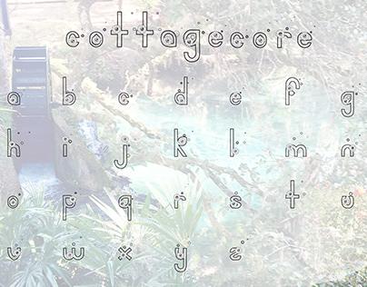 Cottage Core Font