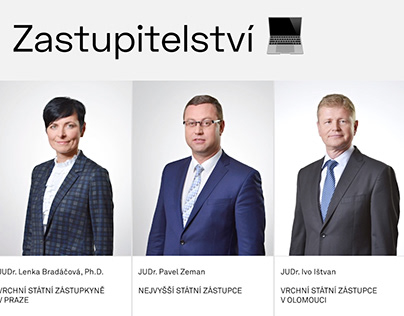 Czech Prosecutor Institute, visual communication