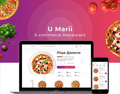 E-commerce Restaurant Pizza & Sushi