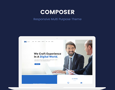 Composer - Responsive Multi Purpose WordPress Theme