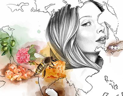 Women's Health Illustrations